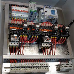 Шкаф управления автоматики высота два насоса пуск звезда-треугольник счетчик моточасов