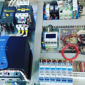 Шкаф управления компрессором