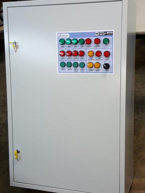 Шкаф управления 4-мя насосами с плавным пуском 2