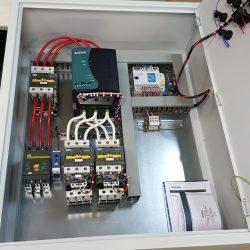 Шкаф управления 2-мя насосами с плавным пуском