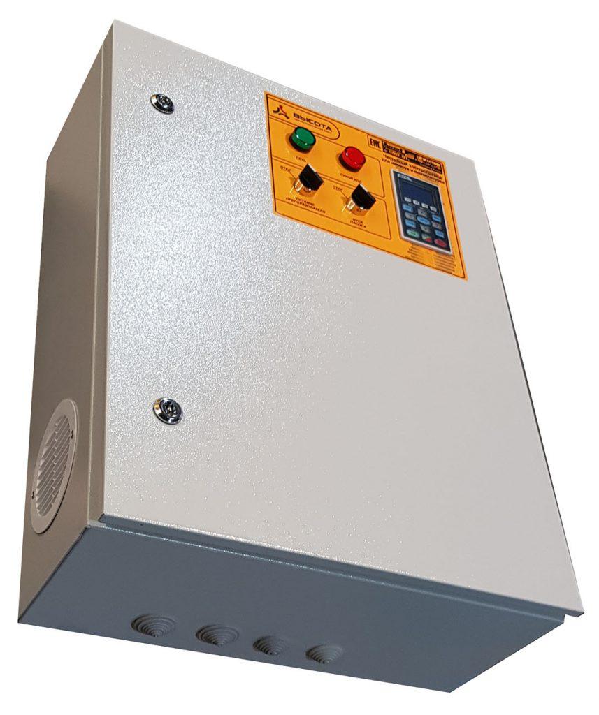 Станция управления управления насосом с преобразователем частоты