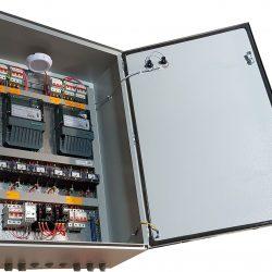 Шкаф вводно-распределительный с АВР и учетом электроэнергии